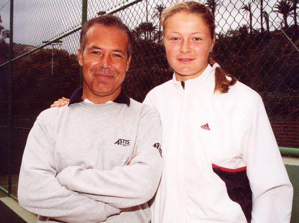 Pancho y Dinara Safina